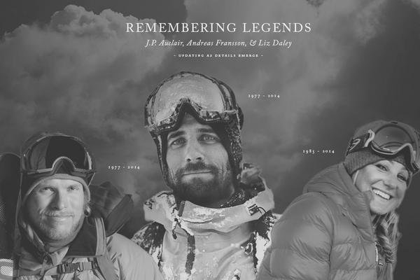 Remembering Legends: J.P. Auclaire ('77-'14), Andreas Fransson ('77-'14), Liz Daley ('85-'14). http://t.co/SRsjXb5KZU http://t.co/lGFYCbnBql