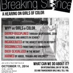 RT @CONNECT_NYC: #NYC Join @GGENYC @AAPolicyForum for Breaking Silence: A Hearing on Girls of Color on Int. #DayoftheGirl 10/11 @ 12p http://t.co/kusjaE3SGN