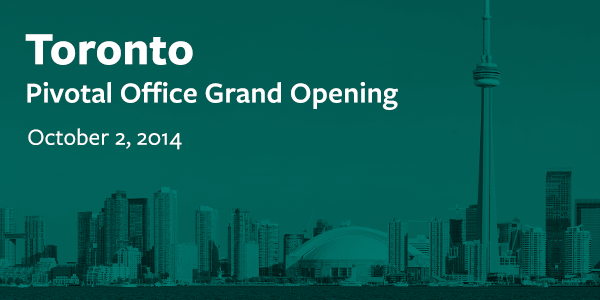 Tomorrow we're hosting our amazing clients in Toronto for an Office Grand Opening celebration! Can't wait! #PivotalTO http://t.co/1QOnqj9NWm