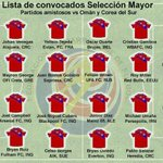 Estos son los convocados de #LaSele #CostaRica para su gira por Asia donde jugará ante Omán y Corea del Sur. http://t.co/F4Ynai3jiH