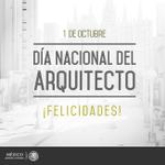 RT @PresidenciaMX: ¡ Felicidades a las mujeres y hombres arquitectos de @Mexico ! #DíaDelArquitecto http://t.co/J1AxiywHBr