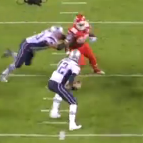 RT @jeffphowe: Brady somehow escaped here to throw an incompletion after Solder, Connolly, Fleming, Cannon all lost 1-on-1 matchups http://t.co/ZZlUHGkdYt