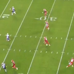 RT @jeffphowe: Those pressures lead to throws off the back foot in clean pockets, like here when Brady missed a wide-open Edelman http://t.co/wSLjc2qb3D