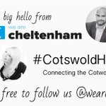 Hello #CotswoldHour from Helen and @intranetfuture We Are Cheltenham http://t.co/BnwP6ZObWr. http://t.co/aglQfsACOM