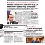 Contralor General de la Derecha y Anti-Cambios !! Ramiro Mendoza el que guardó silencio con el caso Johnsons http://t.co/2kWtQbdyOO