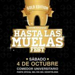 Este sábado 4 de oct #HastaLasMuelasFest en el Comedor universitario. Anticipadas $80 - 3516132286 wpp @jodacba http://t.co/KcqohzDaUU