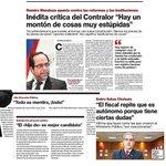 Hasta el Contralor le perdió el respeto al gobierno de Bachelet y sus reformas #VamosBienMichelle http://t.co/hAc3AY9kHX