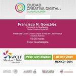 Francisco N. González inicia su conferencia sobre @CCDGoficial en el @WCIT2014 http://t.co/LANyHRIsPA