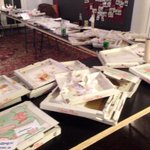 This is how it looks when 130 Growth Hackers eat pizza #nordicgrowth http://t.co/qhcmJecj3s