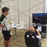 可夢偉選手は「F1 2014」でソチのサーキットを練習してましたw #f1jp http://t.co/aBIZx3HAfI