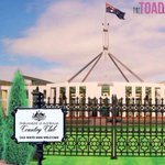 RT @thetoadcomic: Parliament House Country Clubs new signage arrived today ... #auspol http://t.co/gXXX4sYt2F