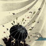"Drawing by Yuko Shimizu, ""endurance and resilience. #HongKong, this one is for you!"" #UmbrellaRevolution #UMHK http://t.co/4wO6rlaDGY"
