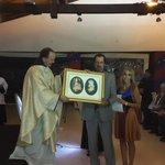 Momento de Consagración del Club Cerro Porteño a los Sagrados Corazones de Jesús y Maria. http://t.co/6X90Df3Ij5