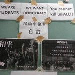 "RT @raykwong: Oh, my. ""You cannot kill us all."" #UmbrellaRevolution #OccupyHK MT @VioletaCamarasa http://t.co/lzgShT1b2M"