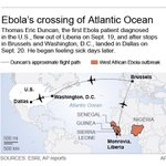 Man with Ebola virus flew roundabout trip to US, including stop at #Dulles Airport http://t.co/arSxWJDtP3 http://t.co/UAgB07alMn