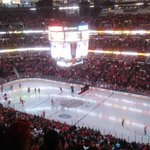 Today marks @brittigno first time at @UnitedCenter and our first time seeing THE @NHLBlackhawks !!!! http://t.co/7ejIpRBVB3