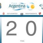 #Deportes92 #Estudiantes venció a Independiente y se enfrentará a #Huracán en la próxima ronda de #CopaArgentina http://t.co/y4P05darxF
