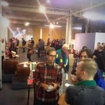 Everyone is at @ShowPDX Where are you? #pdxnow #pdx #portland #bringthekids #snacks #wine http://t.co/QbEtTquZdn
