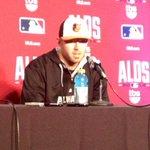 ALDS Game 1 starter Chris Tillman speaking to the media. #Orioles http://t.co/sDvfHR80Yn