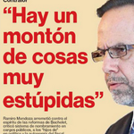 La UP/DC nunca perdonará a Ramiro Mendoza. Pero con estas declaraciones se ha asegurado un futuro en la política. http://t.co/lZvy4TqRUe