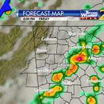 RT @BradNitzWSB: A cold front will trigger rain and storms Friday followed by much cooler air this weekend...on @wsbtv at 5:30pm http://t.co/iQSVzZgc5s