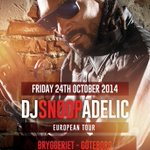 Check me #DJSnoopadelic roccin bryggeriet nightclub in sweden, friday 24th oct. S/o to Josef Dinler + @iforphin http://t.co/cxYVXe5UX8