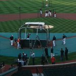 Orioles workout at the Yard. http://t.co/td3tGtejD7