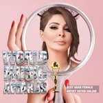 Congrats @elissakh for winning Best Arab Female Artist voted online http://t.co/Kb59CeBPs5