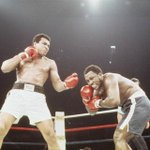 Today in 1975: @MuhammadAli defeated Joe Frazier in the Thrilla in Manila #MuhammadAli http://t.co/ZyDX6x5SpL