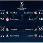 Resultados de miércoles en la #UEFA #ChampionsLeague. Ganaron los equipos de los ticos Navas y Campbell. http://t.co/tHVEexAdyN