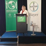 Georgie Aley launching the #youthagsummit in parliament house. @Bayer http://t.co/XUXBlk9moM http://t.co/jrh6tG4mhE