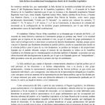 Comunicado de Prensa: Sala declara inconstitucional transfuguismo dentro de la Asamblea Legislativa http://t.co/UtWBYCSuYJ