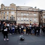 RT @GlobalSolidHK: Around 70 people turned up in Newcastle city centre to raise awareness of #HKdemocracy protest. #GlobalforHK #umhk http://t.co/UmEyW6vTeT