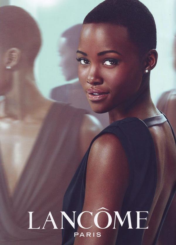 my new beauty campaign with the beautiful @Lupita_Nyongo @LancomeUSA #jadore xo http://t.co/Z2Fk4vlYRo