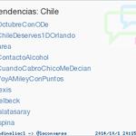 #CuandoCabroChicoMeDecian acaba de convertirse en TT ocupando la 5ª posición en Chile #trndnl http://t.co/8KAEFuE7Sj