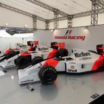 ホンダブースでは3台のマクラーレンホンダを展示中! #JapaneseGP #F1jp http://t.co/ZulXwMlMQw