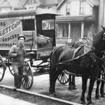 Grocery delivery wagon on Hamilton Street, 1906. @VancityBuzz: http://t.co/37BbmtF28W Photo via @VanArchives http://t.co/3BG4qKAMQT
