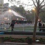 Twitter / @Cooperativa: Manifestantes mapuche prot ...