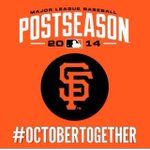 GIANTS MANE! We bout to go in & get this wildcard Win! #sfgiants #OctoberTogether #bayarea @SFGiants http://t.co/VQmX3dtNGZ