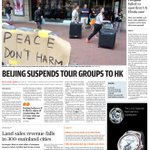 RT @SCMP_News: Our front page for Thursday, October 2, 2014. Read our top stories here: http://t.co/BZs48orhsx http://t.co/idC5jW9xnj