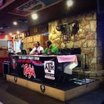 The Aggie Soccer Hour with @CoachGSoccer and @DavidEllis53 is underway at @rudysbbq on Harvey Rd! #12thMan http://t.co/pYXJmoOeW1