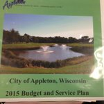 Mayor Hanna released his 2015 budget to the #Appleton Common Council tonight. Read it here: http://t.co/0cTrxHZ7c5 http://t.co/DaTXEvQoOk