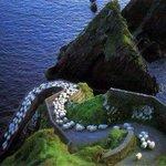 【ドドドドッ】アイルランドにある羊の高速道路 http://t.co/ORwGsbdXjS 季節ごとに放牧地を移動する「移牧」が行われるときの風物詩とのことです。 http://t.co/Iw8BJ2ZRWh