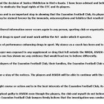 James Hird has released this statement. #9News http://t.co/XYoBU0gQJh
