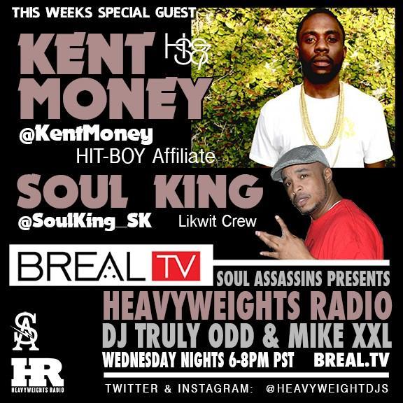 2nte @kentmoney x @SoulKing_SK #HeavyweightsRadio LIVE http://t.co/mplU7JoaxW w/ @djtrulyodd x @whoismikexxl #hiphop http://t.co/bhZJxqj4Zf