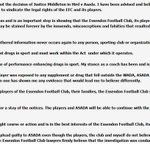 RT @FoxFM: James Hird has released this statement about his ASADA appeal #newsfeed http://t.co/AcAGnISAW3