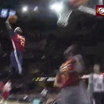 VIDEO: Kyrie Irving goes between-the-legs to find LeBron James for a dunk during scrimmage http://t.co/dYqM08Wt9S http://t.co/5VeTYFEHXZ