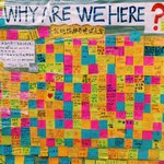 RT @SCMPVideoMoJo: Protestors ask, Why Are We Here? reply with post-it notes #OccupyCentral #UmbrellaRevolution http://t.co/zeTUBPlYci
