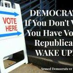 "RT @iyosomi: There are 17 million more Democrats than Republicans. When Democrats vote, Democrats win. http://t.co/BOVWb6W1ib #KeepCalmVoteDem"""