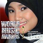 Congrat! @FatinSL Won @WORLDMUSICAWARD Best Indonesian Female Artist> https://t.co/8oiU4e2jH1 @SonyMusicID @AMIawards http://t.co/APtPtLZ01t